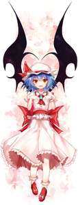 Rating: Safe Score: 0 Tags: 1girl absurdres ascot bangs bat_wings black_wings blue_hair bow brooch efe eyebrows_visible_through_hair fang frilled_shirt frills full_body hand_up hat hat_ribbon highres jewellery looking_at_viewer medium_hair mob_cap open_mouth pink_shirt pink_skirt puffy_short_sleeves puffy_sleeves red_eyes red_footwear red_neckwear red_ribbon remilia_scarlet ribbon sash shirt shoe_bow shoes short_sleeves skirt skirt_set smile socks solo touhou_project white_background white_hat white_legwear wings wrist_cuffs User: DMSchmidt