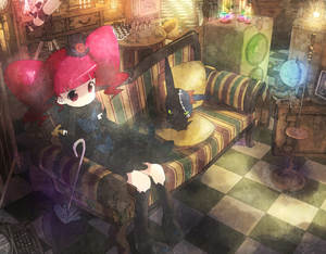 Rating: Safe Score: 0 Tags: 00s 1girl arm_support board_game boots checkered checkered_floor chess couch floor globe harepore hat long_hair marie_&_gali marika_(marie_&_gali) mini_hat mini_top_hat perspective pet_(marie_&_gali) pink_eyes pink_hair solo speaker telescope top_hat twin_tails typewriter User: Domestic_Importer