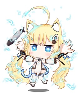 Rating: Safe Score: 1 Tags: 1girl absurdly_long_hair ahoge animal_ears azur_lane bailingxiao_jiu bangs black_footwear blonde_hair blue_eyes blush cat_ears chibi closed_mouth detached_sleeves dowsing_rod dress eldridge_(azur_lane) electricity eyebrows_visible_through_hair floating full_body fur_trim hair_ornament heart heart-shaped_pupils kemonomimi_mode long_hair long_sleeves looking_away outstretched_arm puffy_long_sleeves puffy_sleeves shoes sleeveless sleeveless_dress solo spread_arms symbol-shaped_pupils tail thighhighs torpedo twin_tails very_long_hair white_background white_dress white_legwear User: DMSchmidt