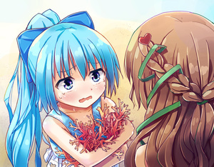 Rating: Safe Score: 1 Tags: 2girls 3678177 :o age_difference bangs bare_shoulders beach blue_eyes blue_hair blush bow braid brown_hair coral crossed_arms eye_contact flat_chest flower_knight_girl french_braid hair_bow hair_ornament hair_ribbon heart heart_cutout heart_hair_ornament high_ponytail holding long_hair looking_at_another multiple_girls nazuna_(flower_knight_girl) nerine_(flower_knight_girl) ocean outdoors ponytail raised_eyebrows ribbon solo_focus swimsuit tagme tankini tears upper_body water wavy_mouth wide-eyed User: DMSchmidt