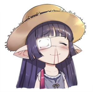 Rating: Safe Score: 1 Tags: 1girl blood blush chiyoda_micro closed_eyes eyepatch granblue_fantasy harvin hat long_hair lunalu_(granblue_fantasy) medical_eyepatch nosebleed pointy_ears portrait protected_link purple_hair solo straw_hat User: DMSchmidt