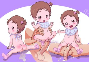 Rating: Explicit Score: 24 Tags: 1boy 1girl after_sex after_vaginal anus ass ass_blush asymmetrical_hair baby bib blush brown_hair decensored feet folded_leg footjob full_body hair_ornament head_tilt heart heart_hair_ornament highres imminent_sex ironashi looking_at_viewer looking_back multiple_views navel open_mouth original pee peeing penis ponytail pussy shiny shiny_hair shiny_skin short_hair side_ponytail socks spread_legs testicles third-party_edit tied_hair toddlercon uncensored veins veiny_penis User: Domestic_Importer
