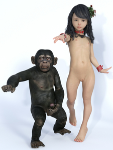 Rating: Explicit Score: 6 Tags: 1girl 3dcg censored closed_mouth collar flat_chest full_body gradient_background libidoll long_hair looking_at_viewer monkey mosaic_censoring navel nipples original penis photorealistic pointless_censoring pussy standing User: Domestic_Importer