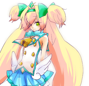 Rating: Safe Score: 0 Tags: 1girl aaakodayo bad_id bell blazblue blonde_hair bow green_eyes hair_intakes hair_ribbon hairband heart heart-shaped_pupils long_hair one_eye_closed platinum_the_trinity quad_tails ribbon short_twin_tails skirt smile solo symbol-shaped_pupils twin_tails two_side_up wings User: DMSchmidt