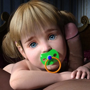 Rating: Explicit Score: 19 Tags: 1boy 1girl 3dcg age_difference ass bangs blonde_hair blue_eyes blunt_bangs caitlin close-up looking_at_viewer navel pacifier penis penis_on_face photorealistic slimdog toddlercon twin_tails User: fantasy-lover