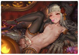 Rating: Explicit Score: 2 Tags: 1boy 1girl alphonse bandages black_gloves black_legwear blush breasts censored collarbone couch cum cum_in_pussy cum_on_body cum_on_breasts cum_on_stomach cum_on_upper_body elbow_gloves fangs flower frilled_gloves frilled_legwear frills gloves hair_flower hair_ornament hairband halloween heart heart-shaped_pupils heels hetero high_heels highres jack-o'-lantern lolita_hairband long_hair navel nipples nude open_mouth original penis photoshop pointy_ears pussy red_eyes red_flower red_footwear ribs rose sex small_breasts spread_legs stomach stomach_tattoo sweat symbol-shaped_pupils tattoo thighhighs tongue tongue_out uncensored vaginal User: DMSchmidt