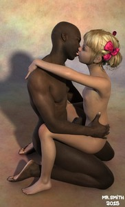 Rating: Explicit Score: 17 Tags: 1boy 1girl 3dcg age_difference bangs barefoot blonde_hair blunt_bangs flat_chest french_kiss hair_ribbon hetero interracial kiss mr_smith nipples nude penis photorealistic ribbon twin_tails uncensored User: Elastoplast