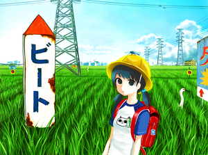 Rating: Safe Score: 0 Tags: 1girl backpack bag bird bird_scarer black_eyes blue_hair building cat_soup crane_(animal) crowd dragonfly giba_ryan hair_over_eyes hat insect kune-kune monster original power_lines randoseru rice_paddy scarecrow school_hat short_sleeves short_twin_tails sign solo transmission_tower twin_tails when_you_see_it User: DMSchmidt