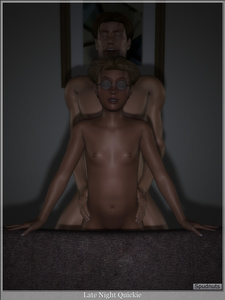 Rating: Explicit Score: 8 Tags: 1boy 1girl 3d_custom_girl 3dcg age_difference artist_name blonde_hair closed_eyes couch father_and_daughter flat_chest glasses hands_on_another's_hips highres incest navel night nipples original photorealistic sex shiny shiny_skin short_hair smile spread_legs spudnuts User: Software