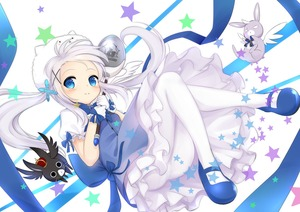 Rating: Safe Score: 1 Tags: (o)_(o) 10s 1girl anko_(gochuumon_wa_usagi_desuka?) blue_eyes frilled_skirt frills gloves gochuumon_wa_usagi_desu_ka? hairping highres holding kafuu_chino long_hair looking_at_viewer magical_girl mary_janes pantyhose scar shoes silver_hair skirt smile tippy tsumiki_akeno twin_tails wand white_gloves white_legwear wild_geese User: DMSchmidt