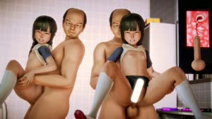 Rating: Explicit Score: 2 Tags: 2boys 2girls 3dcg anal_beads animated balding bangs brown_hair clothed_female_nude_male cross-section dildo flat_chest glasses held_up hetero highres hiro_(hiro1210) holding honey_select long_hair looking_at_viewer multiple_boys multiple_girls multiple_penises nipples nude penis photorealistic sex sex_toy shoes socks testicles tile_wall tiles uterus vaginal video webm User: Domestic_Importer