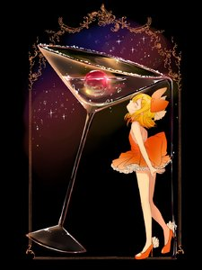 Rating: Safe Score: 2 Tags: 1girl alcohol bare_arms bare_back bare_shoulders blonde_hair bow cherry cocktail cocktail_glass cup dress drinking_glass flat_chest food frilled_dress frilled_skirt frills fruit hair_bow hair_ornament hairclip high_heels highres imminent_kiss kagamine_rin looking_up miniskirt orange_dress oyamada_(pi0v0jg) petite pouring short_dress short_hair skirt sky solo spilling star star_(sky) starry_sky vocaloid User: DMSchmidt