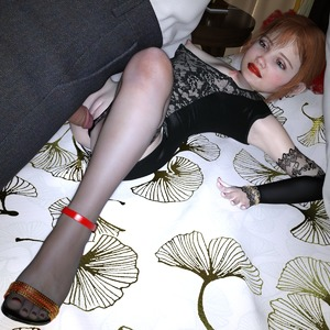 Rating: Explicit Score: 44 Tags: 1boy 1girl 3dcg age_difference bed clitoris cookie_jambun high_heels imminent_penetration lying nail_polish nervous nipples penis photorealistic pussy red_hair shadow User: fantasy-lover