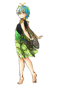 Rating: Safe Score: 0 Tags: 1girl antennae arms_behind_back barefoot black_dress blue_hair butterfly_wings dress eternity_larva green_dress hair_between_eyes hair_ornament highres kourou_(kouroukun) leaf leaf_hair_ornament leaf_on_head looking_at_viewer multicoloured multicoloured_clothes multicoloured_dress short_hair solo touhou_project white_background wings yellow_eyes User: DMSchmidt