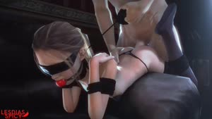 Rating: Explicit Score: 49 Tags: 1boy 1girl 3dcg age_difference anal animated ass ball_gag bdsm blindfold bondage bound collar from_behind leash lesdias obedience_training penis photorealistic ponytail pubic_hair sarah_(the_last_of_us) sex standing testicles the_last_of_us thighhighs video webm User: fantasy-lover