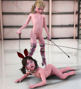 Rating: Explicit Score: 27 Tags: 2girls 3dcg animal_ears ass barefoot bdsm blonde_hair boots brown_hair bunny_ears bunny_tail collar dominatrix femdom flat_chest glasses hairband indoors leash multiple_girls navel nipples obedience_training open_mouth photorealistic pussy self_upload shadow skeleton_(3d-artist) smile standing tail thigh_boots thighhighs twin_tails uncensored whip User: loli4ever