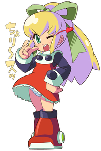 Rating: Safe Score: 2 Tags: 1girl ;d boots bow dress full_body green_bow green_eyes green_hair hair_bow heart ki_(adotadot) long_hair long_sleeves one_eye_closed open_mouth panchira pantsu pantyshot_(standing) red_dress rockman rockman_(classic) roll simple_background smile solo standing underwear upper_teeth white_background white_pantsu User: Domestic_Importer