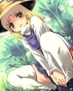 Rating: Safe Score: 1 Tags: 1girl bangs blonde_hair blush d: dutch_angle grass hat legs loafers long_hair looking_at_viewer miniskirt moriya_suwako open_mouth outdoors shoes skindentation skirt skirt_set solo squatting straight_hair thighhighs thighs touhou_project tree white_legwear yellow_eyes yuu_(kfc) zettai_ryouiki User: DMSchmidt