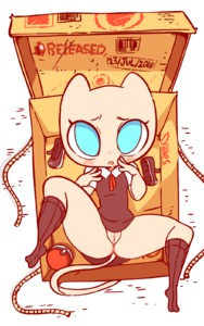 Rating: Questionable Score: 7 Tags: 1girl animal_ears animated artist_name between_legs black_dress black_footwear black_legwear blue_eyes blush box cat_ears cat_tail character_name clitoris covering covering_crotch diives dress embarrassed full_body gen_1_pokemon gif hand_between_legs hands_together highres in_box in_container kemono kneehighs knees_together_feet_apart looking_at_viewer lying mew no_humans nopan on_back open_mouth patreon_logo personification poke_ball poke_ball_(generic) pokemon pokemon_(creature) pussy rope school_uniform shirt shoes shoes_removed short_sleeves signature simple_background sleeveless sleeveless_dress solo spread_legs tail text text_focus uncensored uniform upskirt v_arms white_background white_shirt User: Domestic_Importer