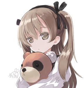 Rating: Safe Score: 0 Tags: 1girl actas brown_eyes brown_hair girls_und_panzer hairband hibanar hug shimada_arisu solo stuffed_animal stuffed_toy teddy_bear User: DMSchmidt