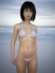 Rating: Questionable Score: 3 Tags: 1girl 3dcg bikini nipples_visible_through_clothing oka outdoors photorealistic sea swimsuit User: laylomo