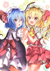 Rating: Safe Score: 0 Tags: 2girls :d :o ascot bangs bat_wings blonde_hair blue_hair blush buttons cowboy_shot crystal eyebrows_visible_through_hair fang flandre_scarlet floral_background frilled_shirt_collar frilled_sleeves frills frown glint hair_between_eyes hands_up hat hat_ribbon highres holding_hands leg_up loli_ta1582 long_hair looking_at_viewer looking_back mary_janes miniskirt mob_cap multiple_girls one_side_up open_mouth pink_ribbon pink_skirt pink_vest puffy_short_sleeves puffy_sleeves red_eyes red_footwear red_ribbon remilia_scarlet ribbon shirt shirt_tucked_in shoes short_hair short_sleeves skirt skirt_set smile socks standing standing_on_one_leg touhou_project v-shaped_eyebrows vest white_background white_hat white_legwear white_shirt white_skirt wings yellow_neckwear User: DMSchmidt