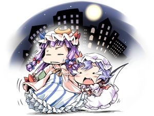 Rating: Safe Score: 0 Tags: 2girls chibi fang ham_(points) multiple_girls patchouli_knowledge remilia_scarlet team_shanghai_alice tears touhou_project User: DMSchmidt