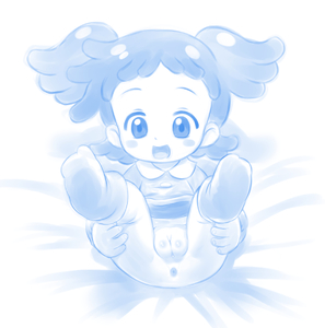 Rating: Questionable Score: 2 Tags: 1girl anus blush_stickers feet full_body harukaze_poppu highres kindergarten_uniform legs_up lying mion_orz ojamajo_doremi on_back open_mouth pussy shiny shiny_skin solo toddlercon uncensored User: Domestic_Importer