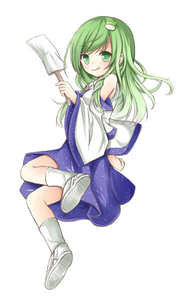 Rating: Safe Score: 0 Tags: 1girl detached_sleeves frog gohei green_eyes green_hair kochiya_sanae long_hair skirt smirk solo tongue tongue_out touhou_project yuuhagi_(amaretto-no-natsu) User: DMSchmidt