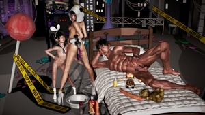 Rating: Explicit Score: 10 Tags: 1boy 2girls age_difference anal_beads animal_ears bangs bed black_hair blunt_bangs candy chain dildo flat_chest hairband heatsink high_heels highres lollipop lube masturbation multiple_girls navel nipples penis rape realistic sex_toy socks testicles toy twin_tails watch User: fantasy-lover