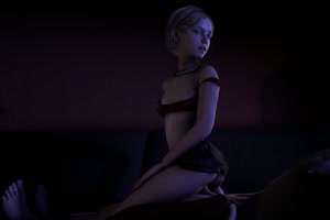Rating: Explicit Score: 6 Tags: 1boy 1girl 3dcg anal animated ass blinking blonde_hair dark_background flat_chest girl_on_top hand_on_hip jewellery looking_at_partner miniskirt necklace nipples open_mouth photorealistic sarah_(the_last_of_us) shirt_pull sitting sitting_on_lap skirt skirt_lift source_filmmaker the_last_of_us video webm zenu User: Software