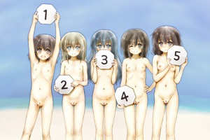 Rating: Questionable Score: 9 Tags: 5girls :d armpits arms_up black_hair blush breasts brown_hair closed_mouth esan_(llamaesan) eyebrows_visible_through_hair flat_chest holding lineup multiple_girls navel nipples nose_blush one_eye_closed open_mouth original pussy small_breasts smile uncensored User: Domestic_Importer