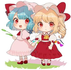 Rating: Safe Score: 0 Tags: 2girls :< :d artist_name ascot bangs blonde_hair blue_hair blush bow chibi dated dress eyebrows_visible_through_hair fang flandre_scarlet frilled_shirt_collar frills full_body gotoh510 hat hat_bow hat_ribbon holding holding_hands long_hair looking_at_viewer multiple_girls one_side_up open_mouth pink_dress pink_hat pointy_ears puffy_short_sleeves puffy_sleeves red_bow red_eyes red_footwear red_neckwear red_ribbon red_skirt red_vest remilia_scarlet ribbon shirt shoes short_hair short_sleeves siblings signature simple_background sisters skirt skirt_set smile socks standing touhou_project vest white_background white_hat white_legwear white_shirt wrist_cuffs yellow_neckwear User: DMSchmidt