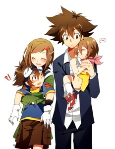 Rating: Safe Score: 0 Tags: !? 2boys 2girls ^_^ bad_id bad_pixiv_id blush brother_and_sister brown_hair carrying closed_eyes digimon digimon_adventure digimon_adventure_tri. dual_persona embarrassed gloves goggles goggles_on_head green_shirt hair_ornament hairclip hug hug_from_behind long_sleeves maro_(lij512) multiple_boys multiple_girls odaiba_middle_school_uniform older scarf school_uniform shirt short_hair shorts siblings smile socks star time_paradox tsukishima_general_high_school_uniform yagami_hikari yagami_taichi User: DMSchmidt