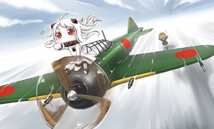 Rating: Safe Score: 0 Tags: 10s 2girls >_< ahoge aircraft airplane brown_hair chasing closed_eyes covered_mouth dress fairy_(kantai_collection) flying_sweatdrops horns kantai_collection mittens multiple_girls northern_ocean_hime open_mouth pointing red_eyes riding running shinkaisei-kan short_hair sitting sparkle white_dress white_hair white_skin wind yaosera User: Domestic_Importer