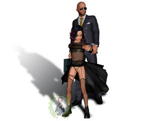 Rating: Explicit Score: 8 Tags: 1boy 1girl 3dcg age_difference boots fishnets gun hitman_absolution necktie photorealistic pistol pose pubic_hair pussy self_upload shadow standing sunglasses thighhighs victoria_burnwood vikadan weapon User: vikadan