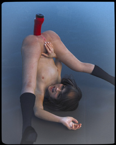 Rating: Explicit Score: 22 Tags: 1girl 3dcg anal_insertion brown_eyes brown_hair clitoral_hood dildo flat_chest harry_potter hermione_granger highres insertion legs_over_head mary_janes nipples nude open_mouth photorealistic pussy sex_toy shoes socks solo uncensored wince User: Software