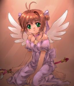 Rating: Safe Score: 1 Tags: 1girl brown_hair cardcaptor_sakura green_eyes hoshi_no_tsue kinomoto_sakura magical_girl mutsuki_(moonknives) solo wings User: DMSchmidt