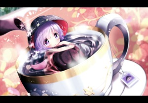 Rating: Safe Score: 0 Tags: 1girl akisha bathing blush bowl cup hat highres in_container in_cup letterboxed looking_at_viewer minigirl nude pouring purple_eyes purple_hair solo sukuna_shinmyoumaru teabag teacup team_shanghai_alice teapot touhou_project User: Domestic_Importer