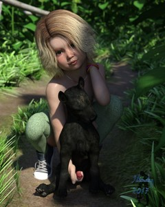 Rating: Explicit Score: 33 Tags: 1girl 3dcg bestiality blonde_hair dog handjob highres knees looking_at_viewer necklace outdoors penis photorealistic slimdog squatting thighhighs User: Pieman