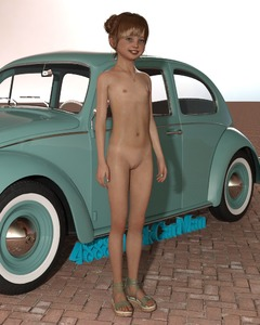 Rating: Questionable Score: 22 Tags: 1girl 3dcg 4888stockcarman blue_eyes brown_hair car fawne_(3du) flat_chest looking_at_viewer navel necklace nipples nude original photorealistic pose pussy sandals shadow smile solo standing steering_wheel tan tanline User: fantasy-lover