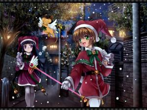 Rating: Safe Score: 0 Tags: cardcaptor_sakura christmas daidouji_tomoyo fuuin_no_tsue highres kero kinomoto_sakura magical_girl mutsuki_(moonknives) User: DMSchmidt