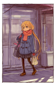 Rating: Safe Score: 0 Tags: 1girl :t _t bag blonde_hair brown_eyes coat full_body futaba_anzu grocery_bag idolmaster idolmaster_cinderella_girls loafers long_hair low_twintails matsuo_yuusuke mittens outdoors pantyhose plastic_bag pleated_skirt scarf sho shoes shopping_bag shoulder_bag sketch skirt solo stuffed_animal stuffed_bunny stuffed_toy twin_tails User: Domestic_Importer