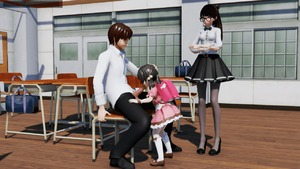 Rating: Explicit Score: 36 Tags: 1boy 2girls 3dcg age_difference asymmetrical_hair backpack bag bangs black_hair chair classroom clothed_sex desk fellatio flute gif hand_on_another's_head huge_filesize instrument kaai_yuki mary_janes multiple_girls oral original penis ponchi recorder school school_desk school_uniform sex shoes sitting standing student teacher veins veiny_penis watching User: Software