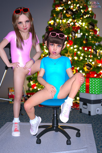 Rating: Explicit Score: 64 Tags: 2girls 3dcg bangs blonde_hair blue_eyes blunt_bangs bracelet brown_hair camera chair christina_(angel_wings) christmas clitoris earrings flat_chest gymnast_leotard jewellery leotard leotard_aside leotard_pull long_hair looking_at_viewer multiple_girls necklace photorealistic poki pose pussy shoes sitting smile socks standing sunglasses tiffany_(angel_wings) tongue User: fantasy-lover
