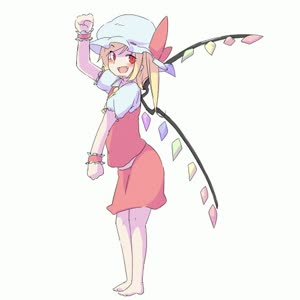 Rating: Safe Score: 2 Tags: 1girl animated ascot bacho barefoot blonde_hair bloomers bow crystal dancing fang flandre_scarlet frilled_sleeves frills from_side full_body hat hat_bow looking_at_viewer lowres medium_hair mob_cap open_mouth puffy_short_sleeves puffy_sleeves red_bow red_eyes red_ribbon red_skirt ribbon seamless_loop short_sleeves side_ponytail simple_background skirt skirt_set solo touhou_project underwear video webm white_background wings wristband yellow_neckwear User: DMSchmidt
