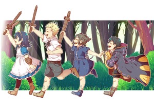 Rating: Safe Score: 0 Tags: 2boys 2girls black_hair blonde_hair blue_hair book cloak closed_eyes cynthia_(fire_emblem) dress eudes_(fire_emblem) fire_emblem fire_emblem_kakusei forest holding holding_book holding_sword holding_weapon lucina mark_(fire_emblem) multiple_boys multiple_girls namiine nature outdoors running shorts smile sword toy tree weapon wooden_sword User: Domestic_Importer