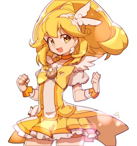 Rating: Safe Score: 0 Tags: 1girl :d anpolly blonde_hair bow choker cure_peace hair_flaps kise_yayoi magical_girl open_mouth ponytail precure short_hair simple_background skirt smile smile_precure! solo white_background yellow yellow_bow yellow_eyes yellow_skirt User: DMSchmidt
