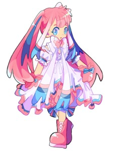 Rating: Safe Score: 2 Tags: 1girl arm_garter bloomers blue_bow blue_eyes blush blush_stickers boots bow corset dress flat_chest frilled_dress frills full_body gen_6_pokemon gloves hair_bow hair_ornament happy long_hair looking_at_viewer mameeekueya multicoloured_hair open_mouth pink_bloomers pink_footwear pink_gloves pink_hair pokemon shiny shiny_hair simple_background sleeveless sleeveless_dress smile socks solo standing sylveon tied_hair twin_tails underwear white_background white_bow white_dress white_legwear white_neckwear User: DMSchmidt