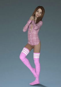 Rating: Explicit Score: 1 Tags: 1girl 3d_lolicon_pack 3dcg 48888stockcarman blue_eyes bottomless clitoral_hood flat_chest legwear long_hair looking_at_viewer nopan open_clothes open_shirt photorealistic pink_legwear pubic_hair pussy red_hair shirt smile solo standing striped_legwear thighhighs uncensored User: Software